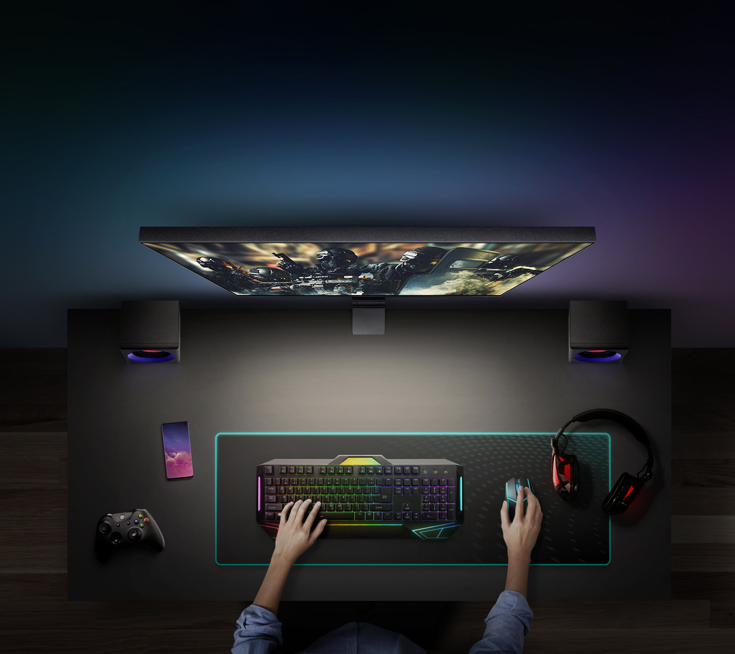 Space Gaming Monitor SR75Q 3