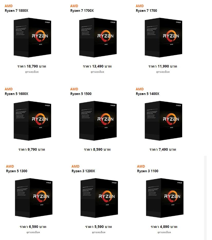 ryzen box prices