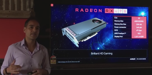 AMD press conf. Australia RX 470
