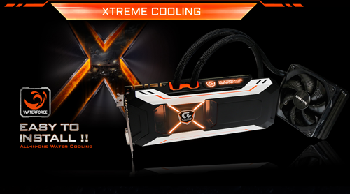 Gigabyte GTX 1080 XTREME GAMING Water cooled 4