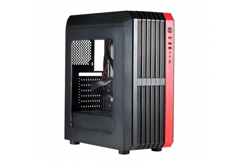 x2products computer cases rindja x2 red