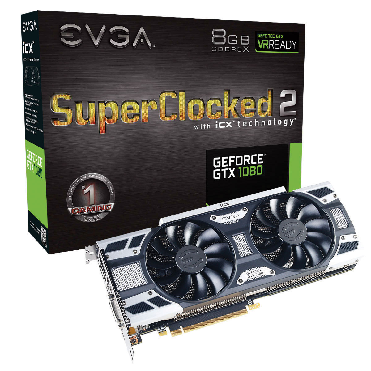 5 EVGA GeForce GTX1080 SC2 Gaming