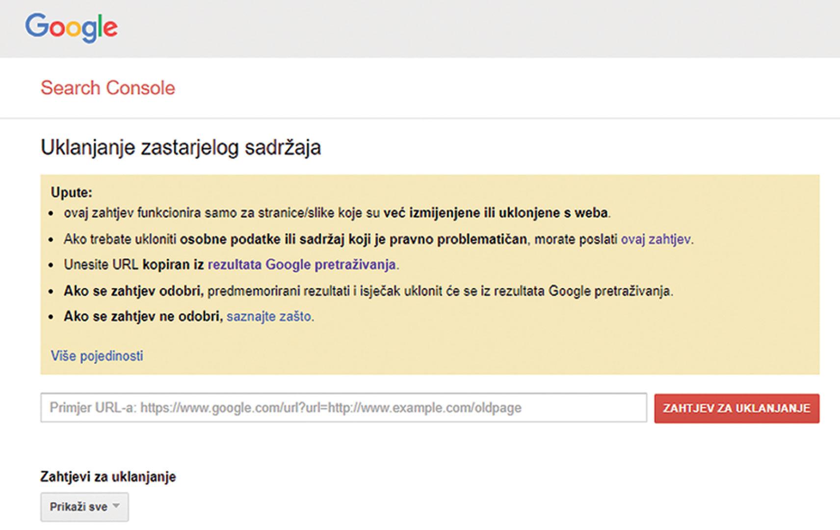 Besplatni primjeri internetskih profila