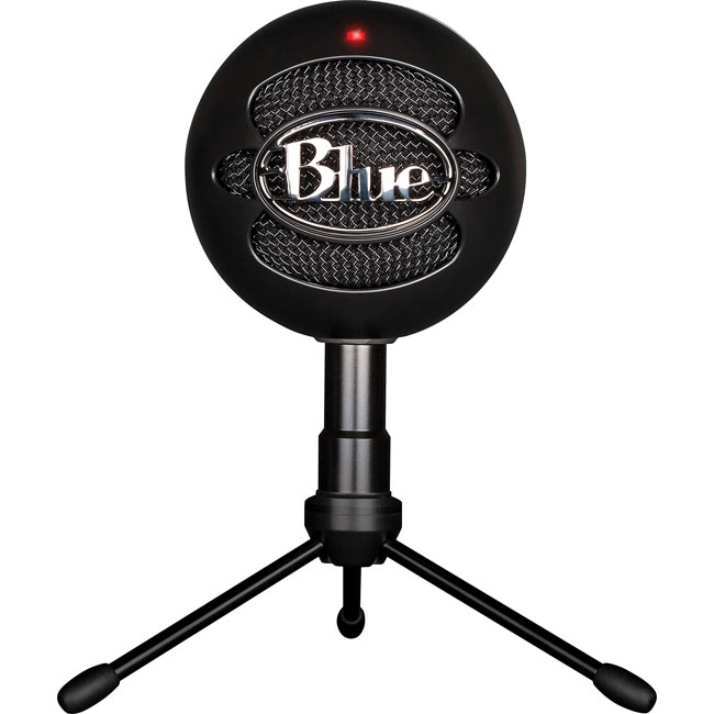 blue snowball ice black snowball usb condenser microphone 1252289