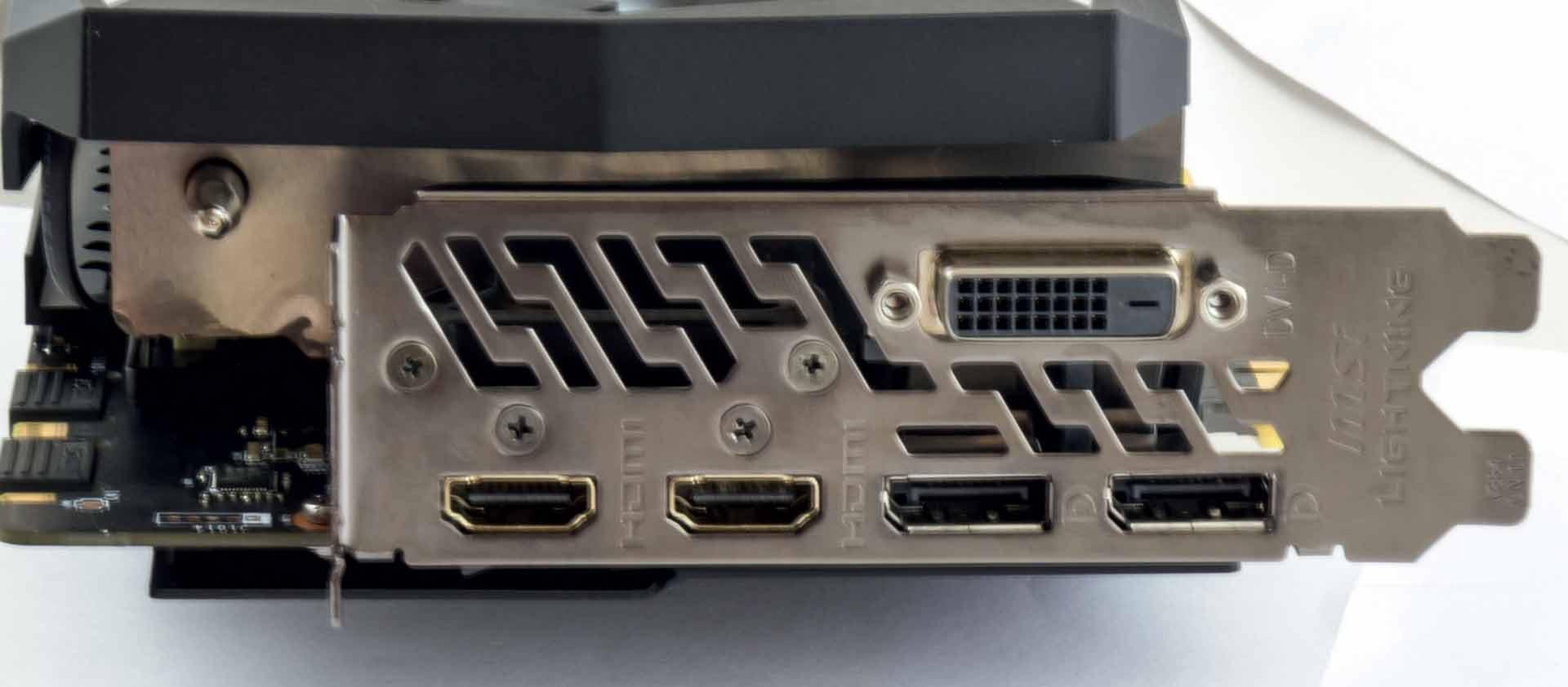 MSI GTX 1080Ti Lightning Z 6