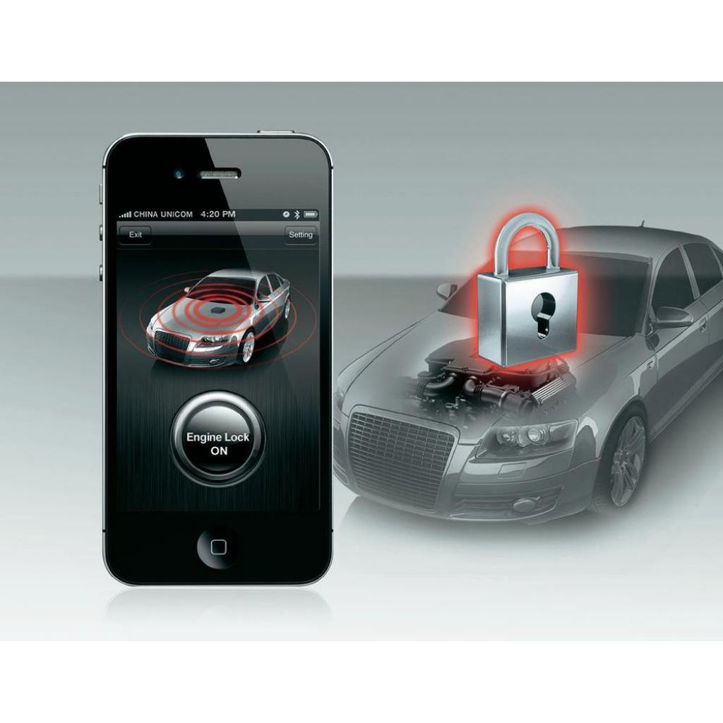 Protuprovalna zaštita automobila Smart Engine Lock za iPhone i Android