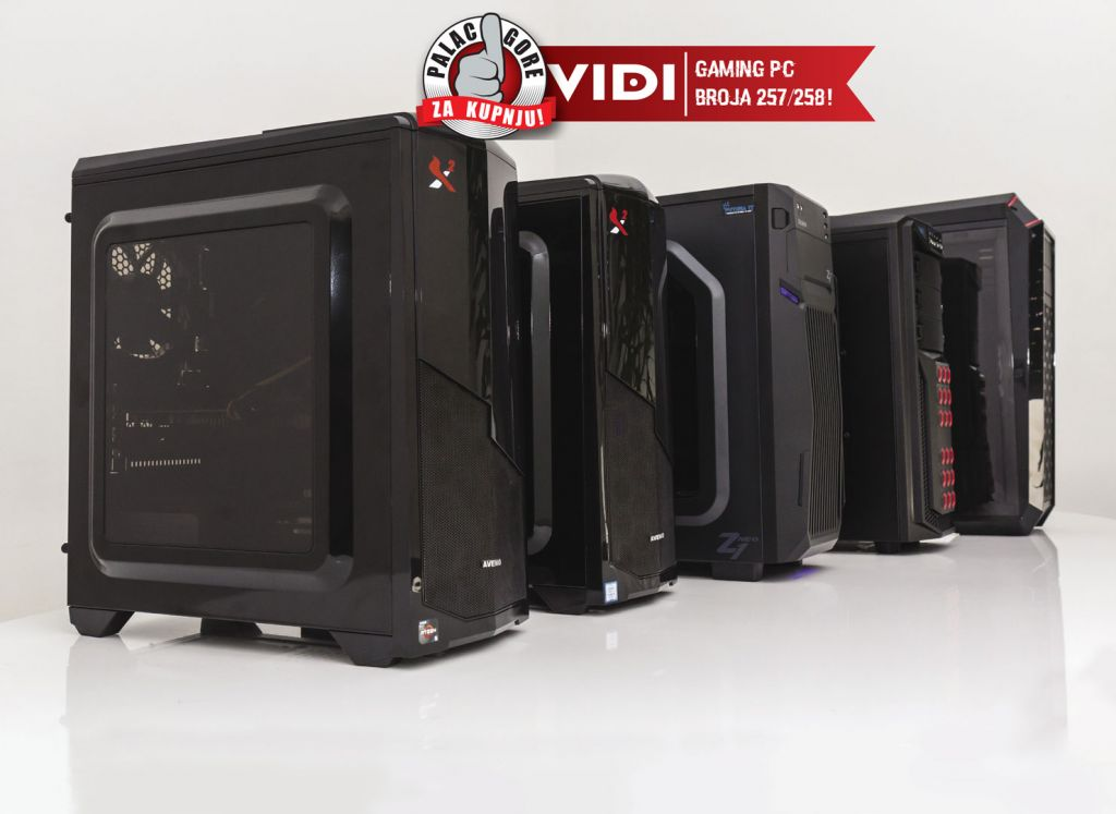 Koju gaming  konfiguraciju odabrati do 7000 kuna - TEST TOP 5 gaming PC-a