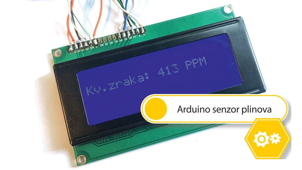HOW TO: Arduino senzor plinova