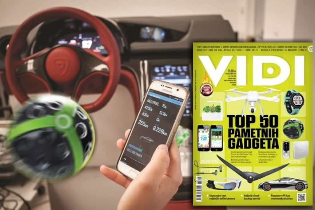 Vidijev dvobroj donosi više od 50 gadgeta iz kategorija smart car, home, plants, fitness i devices