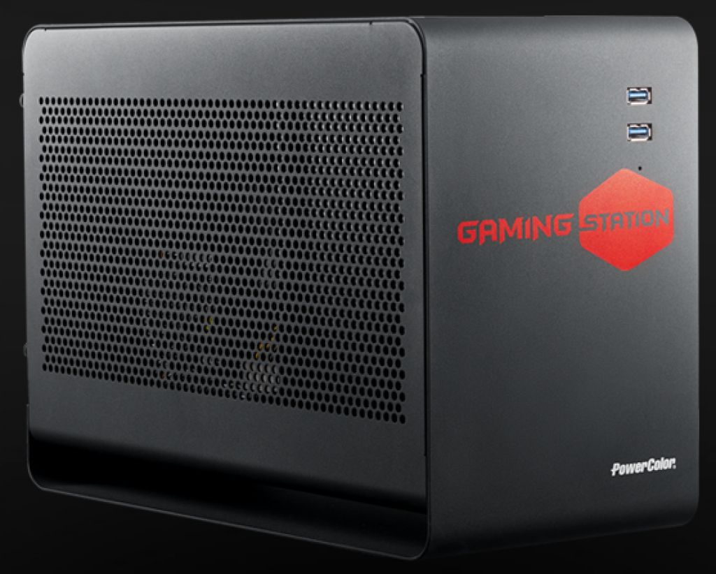 Gaming Station: Novo PowerColorovo eGPU kućište
