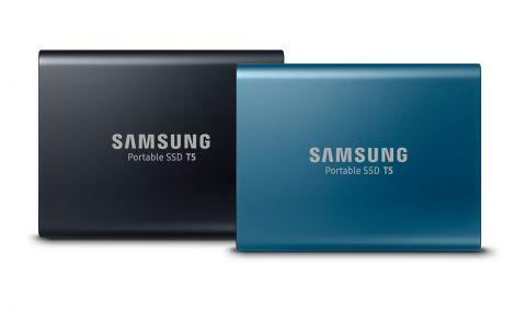 T5 je Samsungov novi prijenosni SSD.