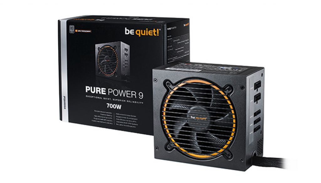 Be Quietova Pure Power 9 serija pristupačnih napajanja proteže se od 300 W do 700 W