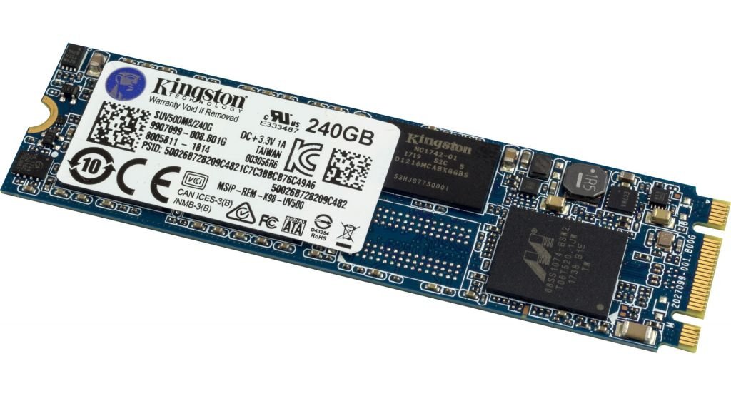 Kingston UV500 M.2 SATA III SSD 240 GB