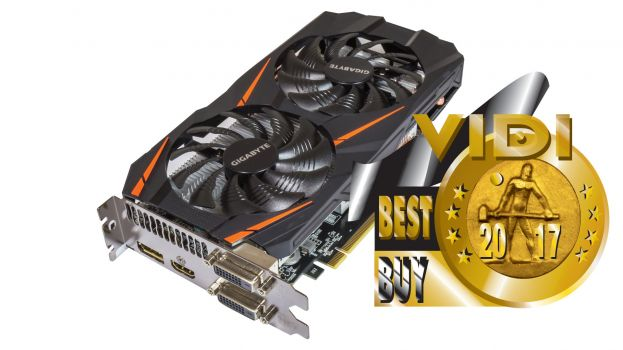 Gigabyte GTX 1060 Windforce OC Edition 3 GB