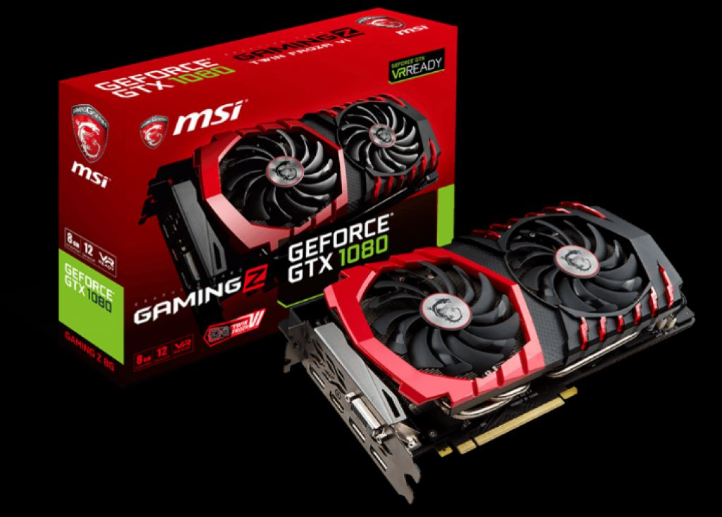 MSI najavio GeForce GTX 1080 i 1070 u Gaming Z seriji