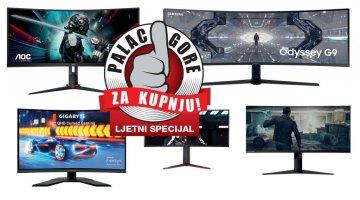 Palac gore za kupnju- Koji zakrivljeni gaming monitor kupiti?