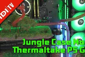 Jungle Case Mod - Thermaltake P5 GT - 4K