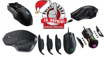 Božićni palac za kupnju najboljih miševa
