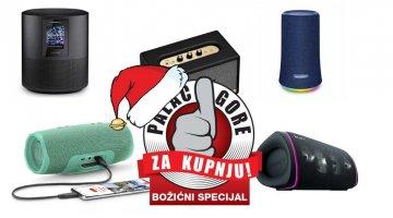Božićni palac gore za kupnju- Koji bluetooth prijenosni zvučnik odabrati?