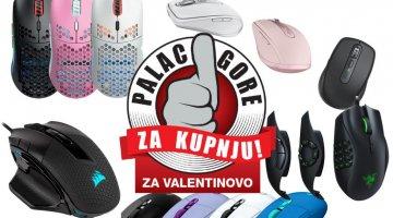 Palac gore za kupnju: Vrhunski miševi za upgrade periferije na Valentinovo