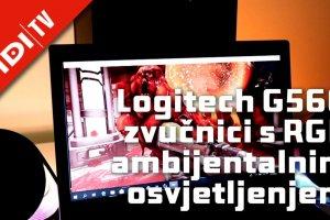Logitech G560 zvučnici s RGB ambijentalnim osvjetljenjem