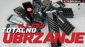 Veliki usporedni test: Koji M.2 PCIe NVMe SSD kupiti?