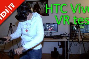 HTC Vive - VR test