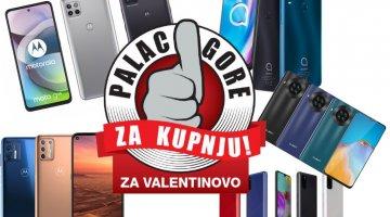 Palac gore za kupnju: Najbolja ponuda mobitela za poklon na Valentinovo