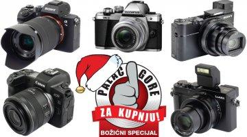 Božićni palac gore za kupnju: Fotoaparati