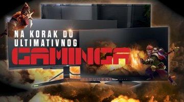 Veliki usporedni test najboljih gaming monitora s modernim tehnologijama na našem tržištu