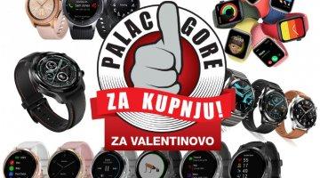 Palac gore za kupnju: Velik izbor najboljih pametnih satova za Valentinovo