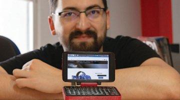 hgTerm: Mali hrvatski Raspberry Pi laptop iz kućne radinosti