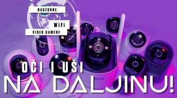 Test Top 10 kućnih WiFi nadzornih kamera