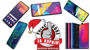 Božićni palac gore za kupnju: Mid-range mobiteli