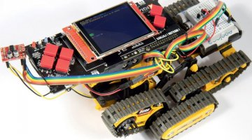 Vidi Project X #87: Robot nadograđen Vidi Project X mikroračunalom