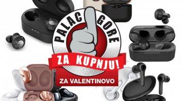 Palac gore za kupnju: Odlične In-ear slušalice kao poklon na Valentinovo