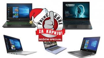 Božićni palac gore za kupnju: Najbolji laptopi do 6000 kuna